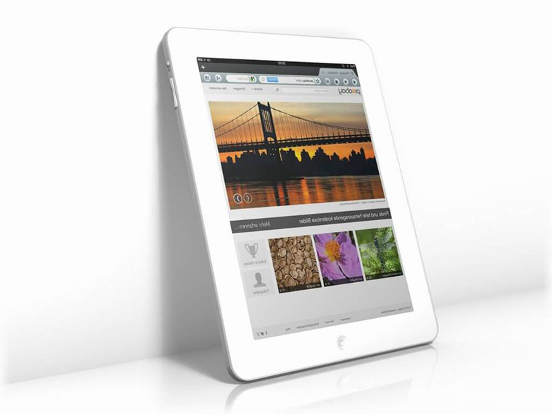 Tablet Diseño Web WordPress